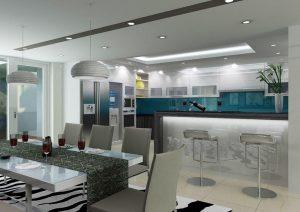 Một số hình ảnh trong dự án thi công nội thất nhà anh Việt - Gia Lâm