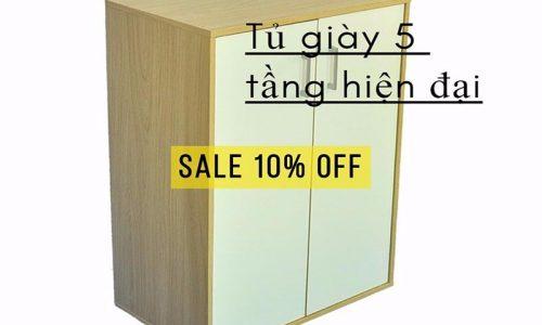 Chỉ với  1.125.000đ sở hữu ngay tủ giày 5 tầng hiện đại tại Tiki