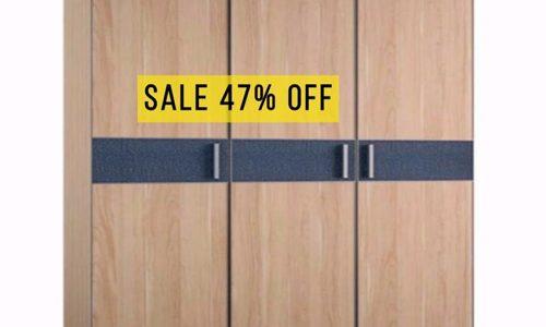 ⚡ Ưu đãi cuối tháng 9: giảm giá 47% mẫu tủ quần áo 3 cánh hiện đại
