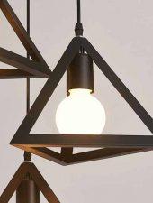 Đèn trang trí hình tam giác đẹp GHO-214