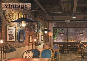 Đèn Trang Trí Quán Cafe Retro –GHO-213-7
