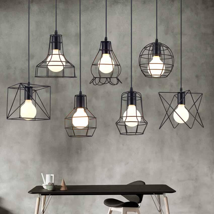 #1: Bộ đèn đa sắc thái nghệ thuật phong cách vintage GHO-222