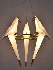 Bộ đèn trần trang trí hình con chim trắng GHO-264