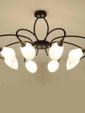 Đèn chùm hiện đại cho phòng khách thêm đẹp GHO-262