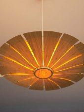 Đèn lồng gỗ trang trí phòng khách GHO-272