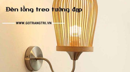 Sở hữu ngay mẫu đèn lồng treo tường độc đáo với giá cực rẻ.