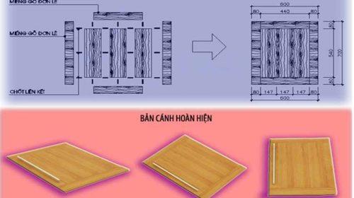 Cách khắc phục tình trạng cong vênh của gỗ tự nhiên