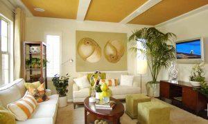 Bật mí cách trang trí trần nhà đẹp tô điểm cho không gian nội thất
