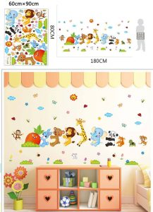 Decal-tranh-trang-tri-hoa-tiet-dong-vat-GHO-801