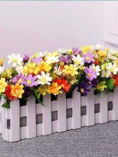 Chậu hoa giả - chậu hoa trang trí đẹp GHS-6203