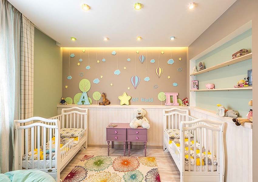 Finding the right rug for the modern nursery