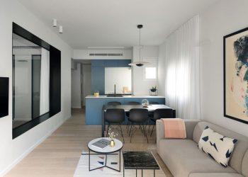 Không gian thiết kế căn hộ chung cư B3 83.7m2 nhà anh Thành - An Bình City