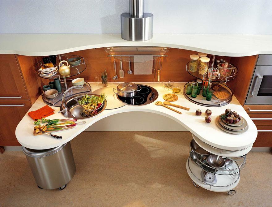 """""""Nhà bếp"""" tối giản chỉ vỏn vẹn 2m2, song như vậy là đủ."""