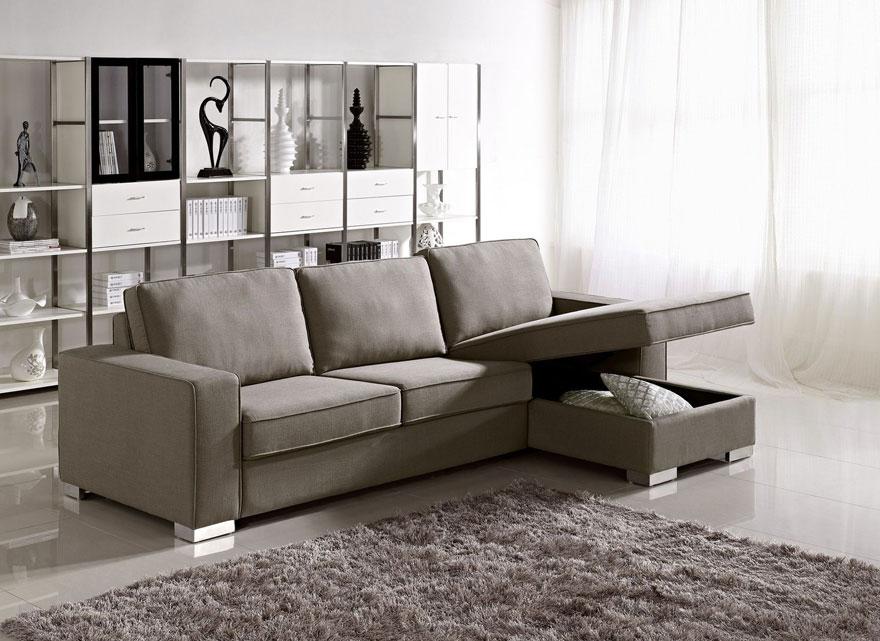 """Nhiệm vụ chung của những mẫu đồ nội thất thông minh là tận dụng tối đa không gian """"rảnh"""" chưa dùng tới, giống như bộ ghế sofa này chẳng hạn."""