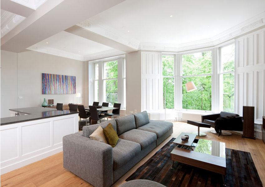 Nội thất chung cư hơn 70m2, nhỏ cần đảm bảo gì để không gian rộng rãi hơn?