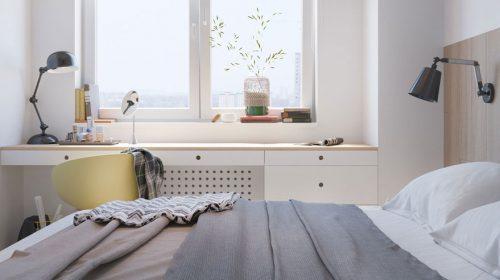 Không gian nội thất căn hộ loại C 92.8m2 nhà anh Đức - Ecolife Tây Hồ