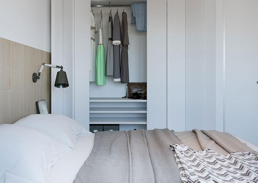 Tủ quần áo nhiều ngăn là giải pháp gói gọn nhiều thứ lộn xộn trong phòng ngủ cực kỳ hiệu quả