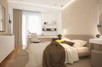 5 cách bài trí phòng ngủ 20m2 ấm cúng hơn vào mùa đông