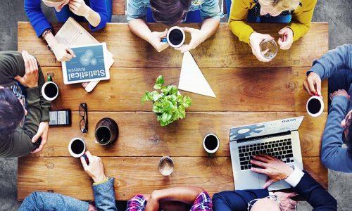 Thiết kế quán cafe có không gian làm việc chung đầy sáng tạo