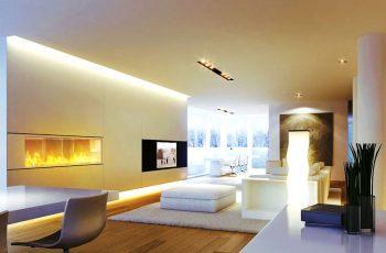 8 cách trang trí nội thất giúp khắc phục lỗi trần nhà thấp