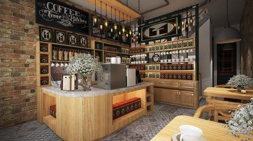 Những nguyên tắc bất di bất dịch để thiết kế quán cafe nhỏ đẹp thu hút khách