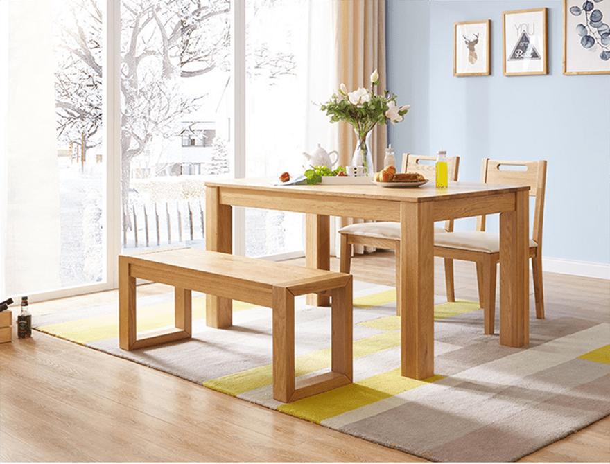 Tìm hiểu về chất lượng vượt trội của bộ bàn ăn gỗ sồi GHS-4570