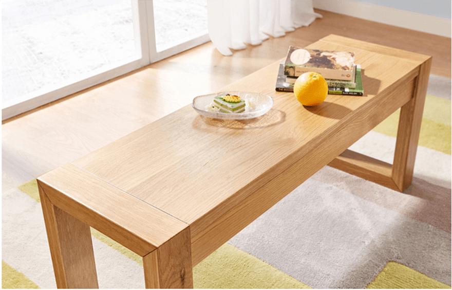 Ghế băng dài đi kèm bộ bàn ghế ăn gỗ sồi GHS-4570