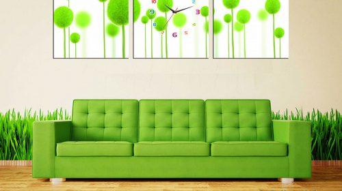 Cách treo đồng hồ trong phòng khách ảnh hưởng tới vận khí gia chủ