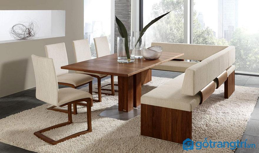 Nên chọn bàn ăn hình chữ nhật khi nào?