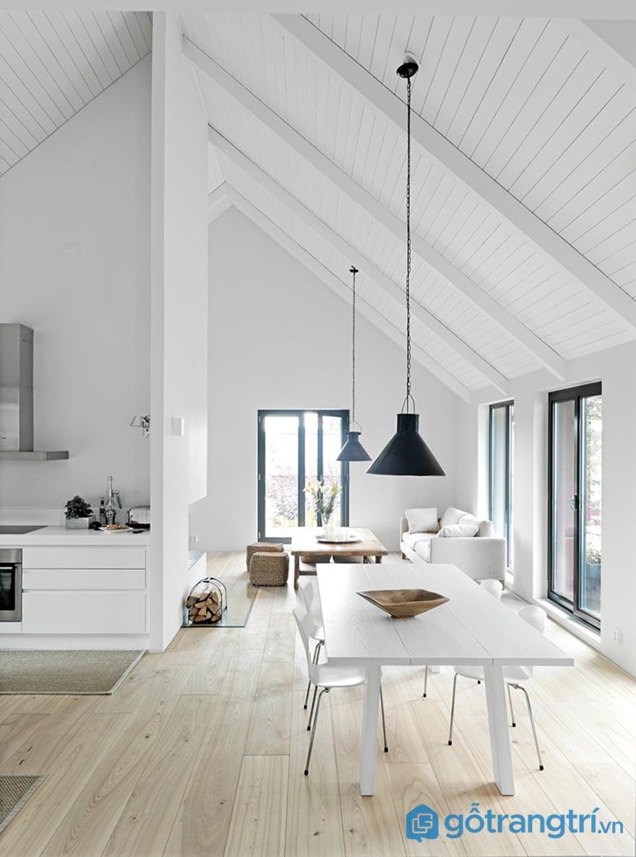 Cách chọn màu sắc khi thiết kế nhà ở theo phong cách nội thất tối giản
