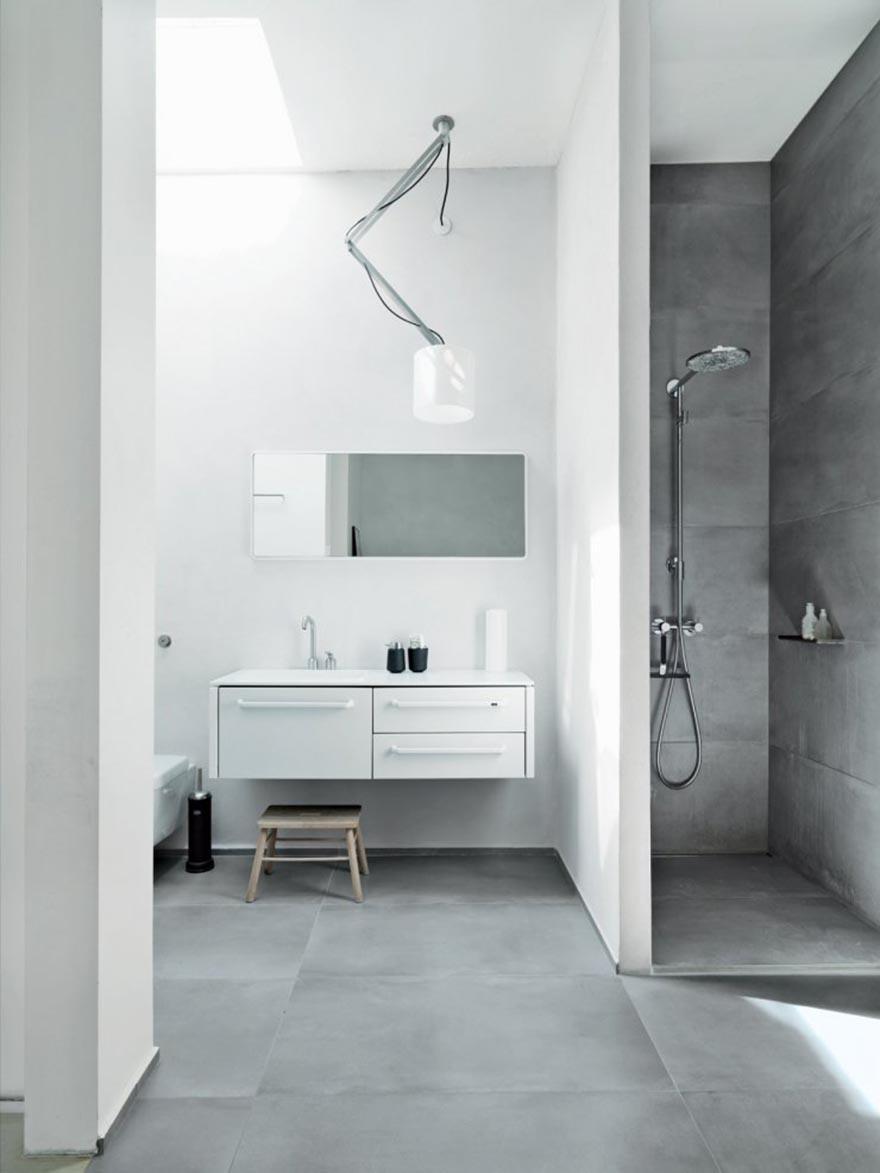Gợi ý thiết kế phòng tắm tối giản