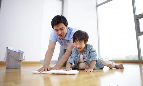 Cách làm sạch sàn nhà đơn giản, tiết kiệm chi phí mà chỉ tốn vài phút
