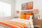 Điểm nhấn màu cam - Sự phá cách vừa đủ cho căn hộ thêm cá tính