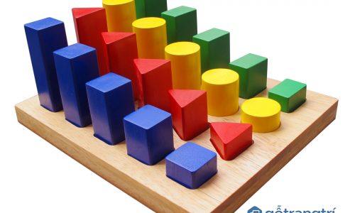 Tư vấn: Vì sao cha mẹ nên chọn đồ chơi gỗ thông minh cho bé?