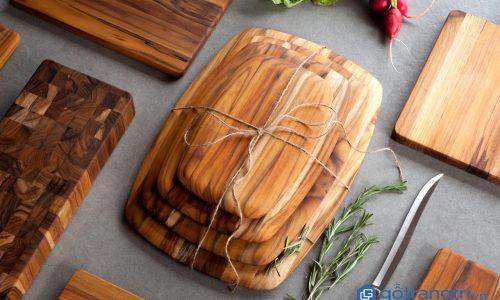 Chuyên gia bật mí cách làm đẹp cho gian bếp với đồ gia dụng gỗ