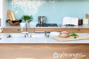 """8 mẫu gạch ốp nhà bếp theo phong cách hình học cực """"HOT"""" 2018"""