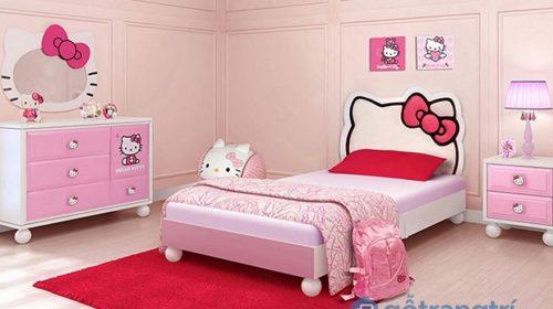 Bộ sưu tập giấy dán tường cho phòng ngủ màu hồng đẹp nhất 2018
