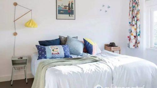 Thổi hồn không gian nội thất nhà ống với sắc trắng tinh khôi