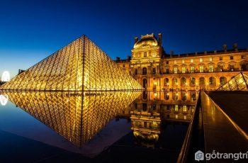 Kim tự tháp Le Grand Louvre đạt giải thưởng của Viện Kiến trúc Hoa Kỳ