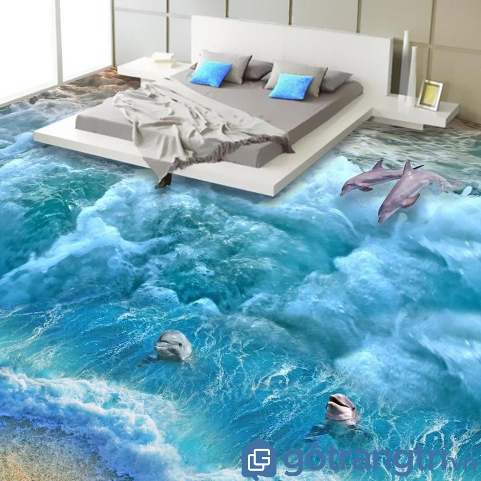 làm mới không gian sống bằng gạch 3D