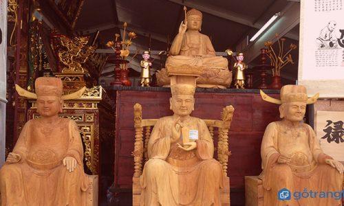 Khám phá nghệ thuật điêu khắc gỗ ở Làng nghề mỹ nghệ Sơn Đồng