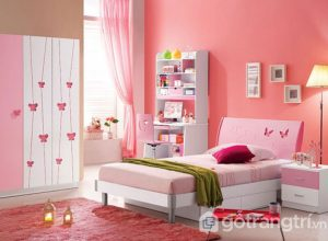 Theo bạn: Màu sơn phòng ngủ cho bé gái như thế nào là nữ tính?