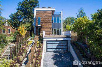 Ngắm nhìn thiết kế mở độc đáo trong ngôi nhà Xanh Ở Seattle