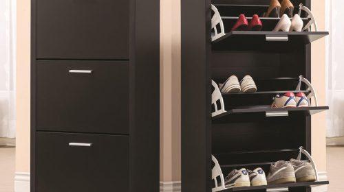 Những mẫu tủ, kệ giày dép thông minh dành cho ngôi nhà của bạn