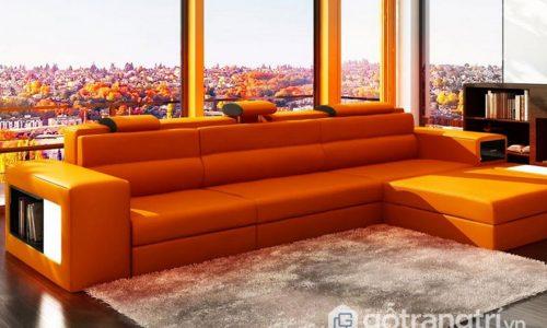 Sức hấp dẫn nội thất màu cam cho mọi không gian sống hiện đại