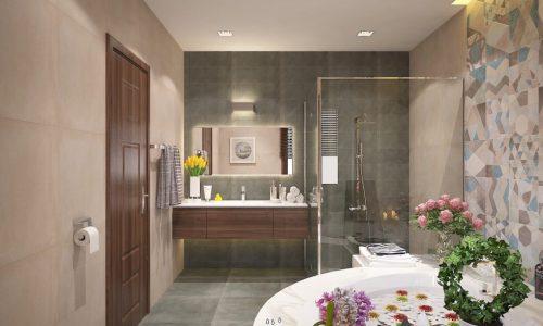 Cách thiết kế phòng tắm tiết kiệm chi phí nhưng cực kỳ ấn tượng