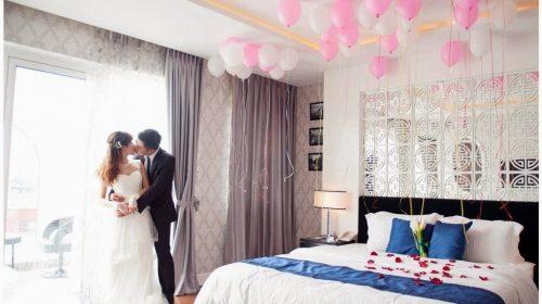 Bật mí 5 mẹo trang trí phòng tân hôn lãng mạn, ấm áp cực kỳ đơn giản