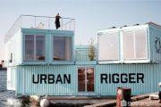 Urban Rigger – Ký túc xá nổi trên mặt nước ở Đan Mạch