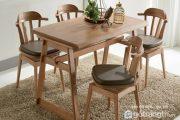 Hướng dẫn chọn và bố trí bàn ghế ăn cho gia chủ mệnh Mộc