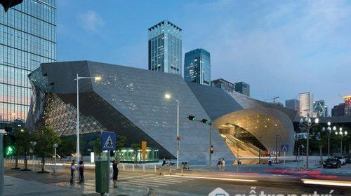 """Thiết kế ấn tượng của bảo tàng """"hai trong một"""" ở Trung Quốc."""